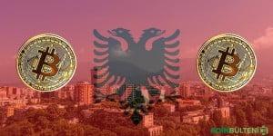 Arnavutluk bitcoin
