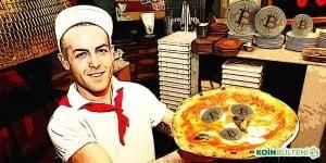 Bitcoin ile Pizza Papa John's