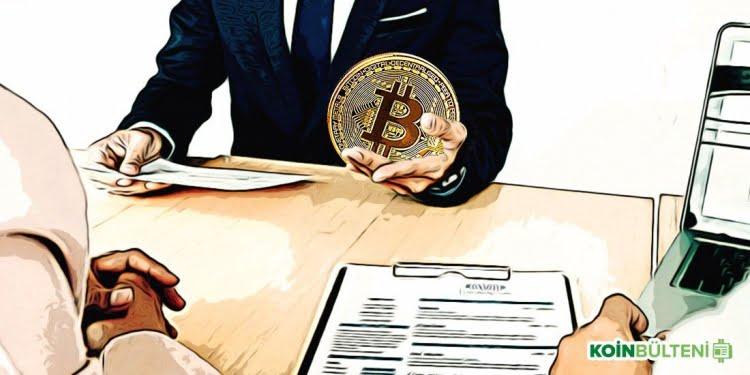 Bitcoin ile işe alım
