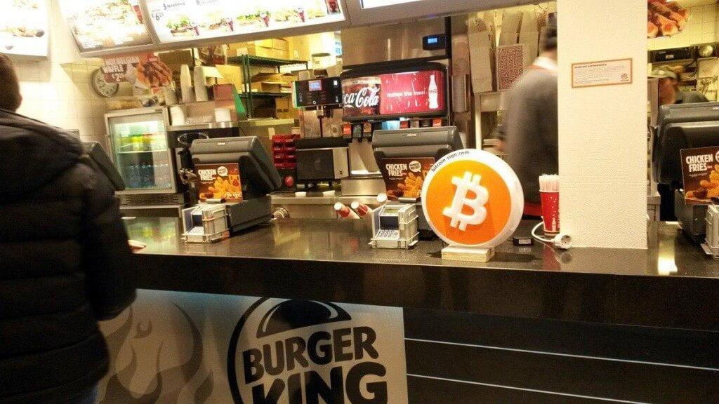 Burgerking bitcoin kabul ediyor