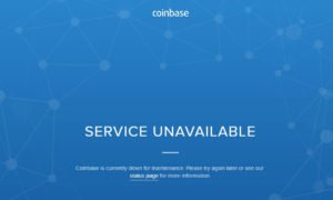 Coinbase çöktü