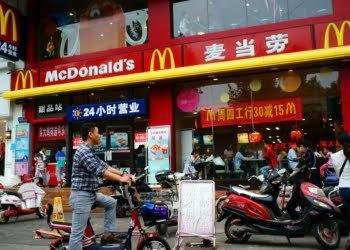 Çin'deki 2 bin 400 McDonald's dükkanından biri, Imaginechina/Associated Press