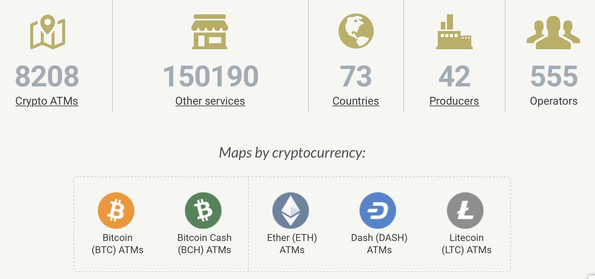 Dünya Genelindeki Bitcoin ATM'lerinin Sayısı 8 Bini Geçti 3