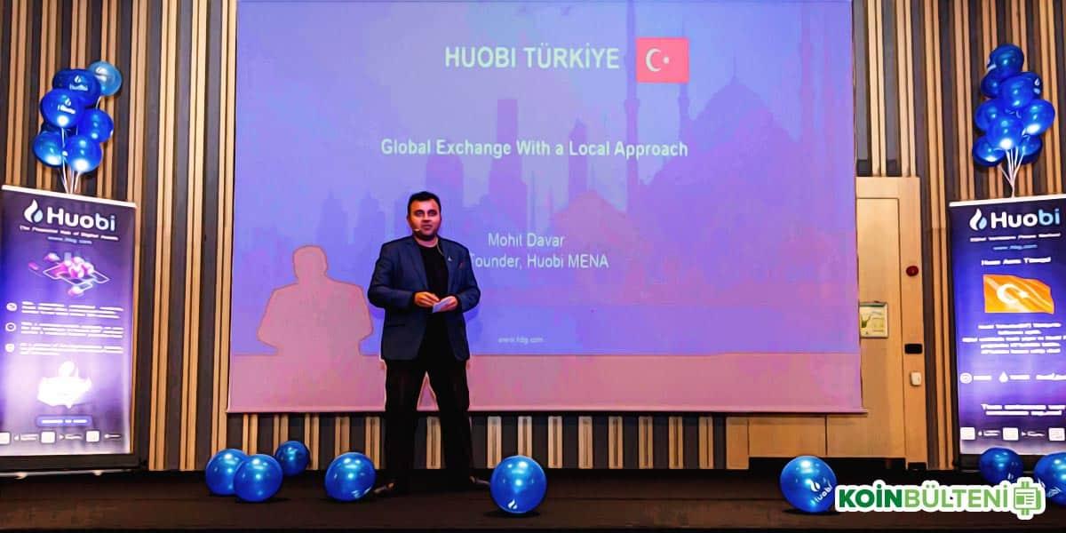 Mohit Davar Huobi Istanbul
