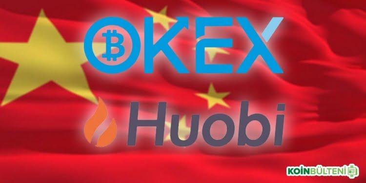 OKEx ve Huobi-Pro'dan Çinli Kullanıcılara Sürpriz Hamle