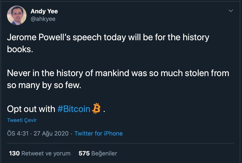 visa-yoneticisi-bitcoin-tweet