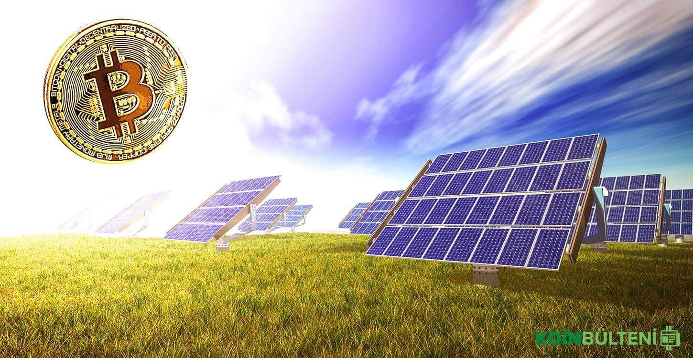 Solar Enerji ile Kripto Para Madenciliği