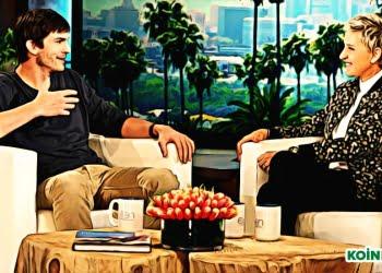 Ashton Kutcher Ellen DeGeneres