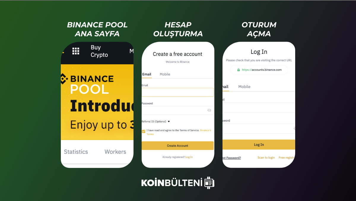binance-pool-madencilik-hesap