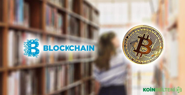 bitcoin blockchain eğitim üniversite