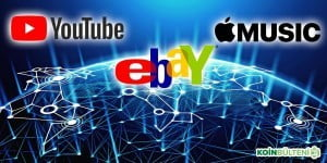 blockchain youtube ebay apple