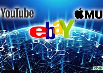 blockchain youtube ebay apple