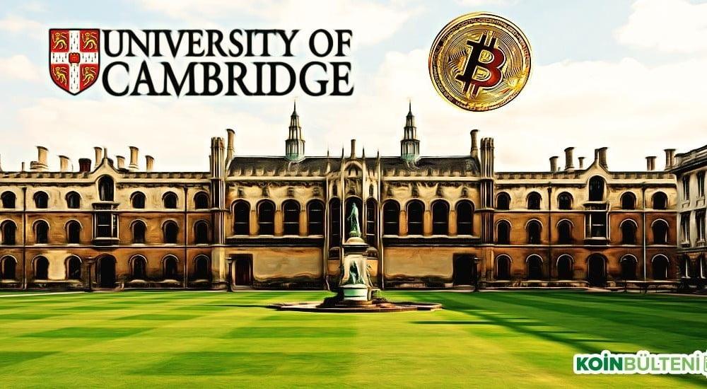 cambridge üniversitesinden kripto paralar hakkında önemli araştırma