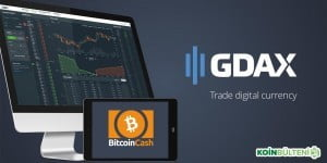 Gdax Bitcoin Cash