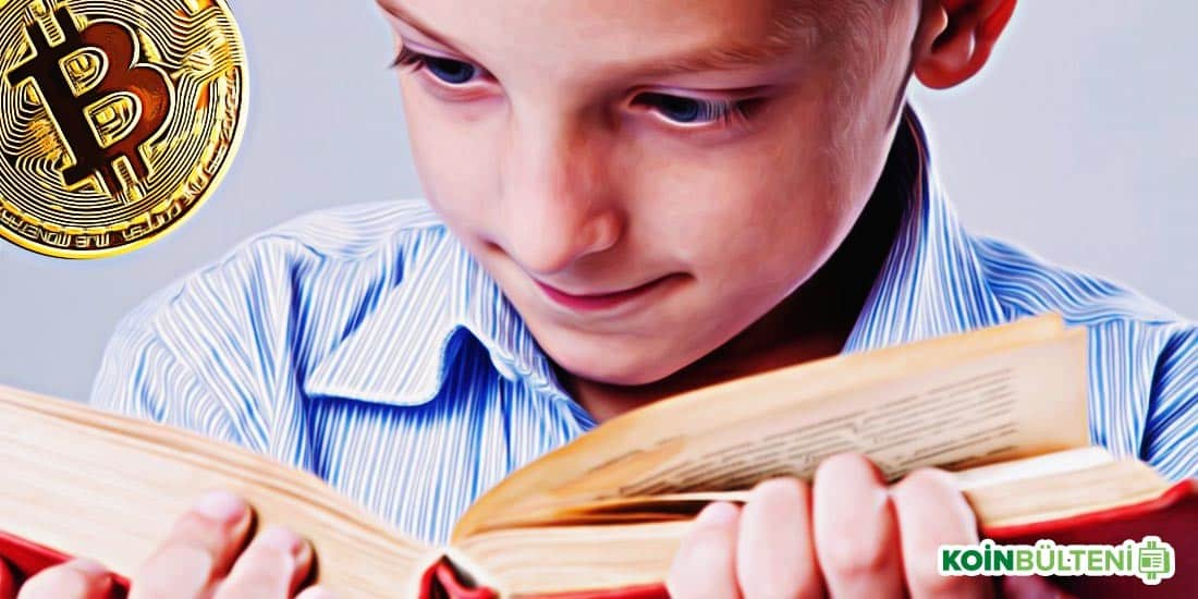 ilkokul öğrencisi bitcoin kitabı