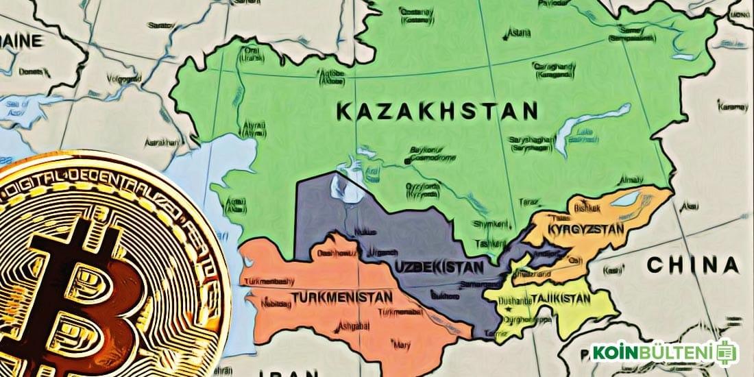 kazakistan ozbekistan kirgizistan kripto para