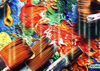 kripto para ödüllü şifre sanat tablo
