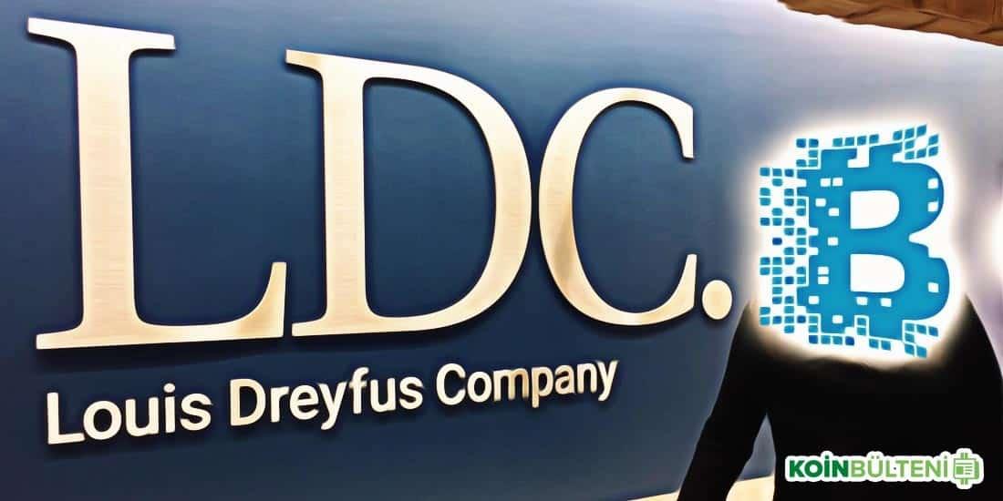 Louis Dreyfus blockchain