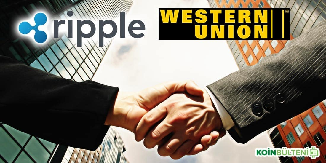 ripple western union ortaklik