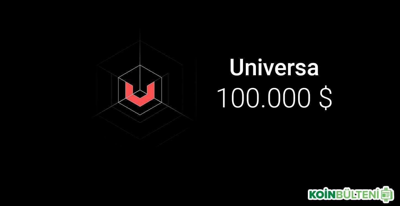 universa ico yüz bin dolar olmayı hedefliyor
