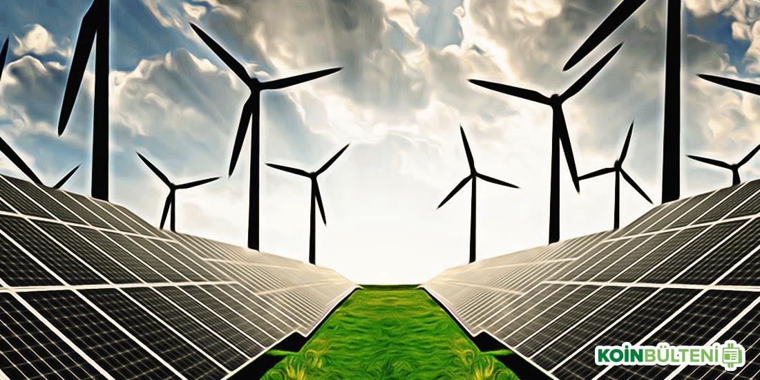 yinelenebilir enerji blockchain